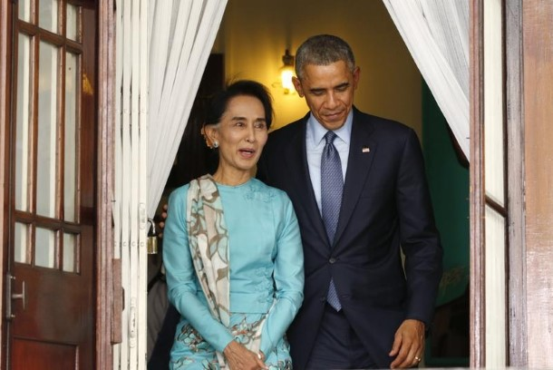 Obama prepared to lift Myanmar sanctions