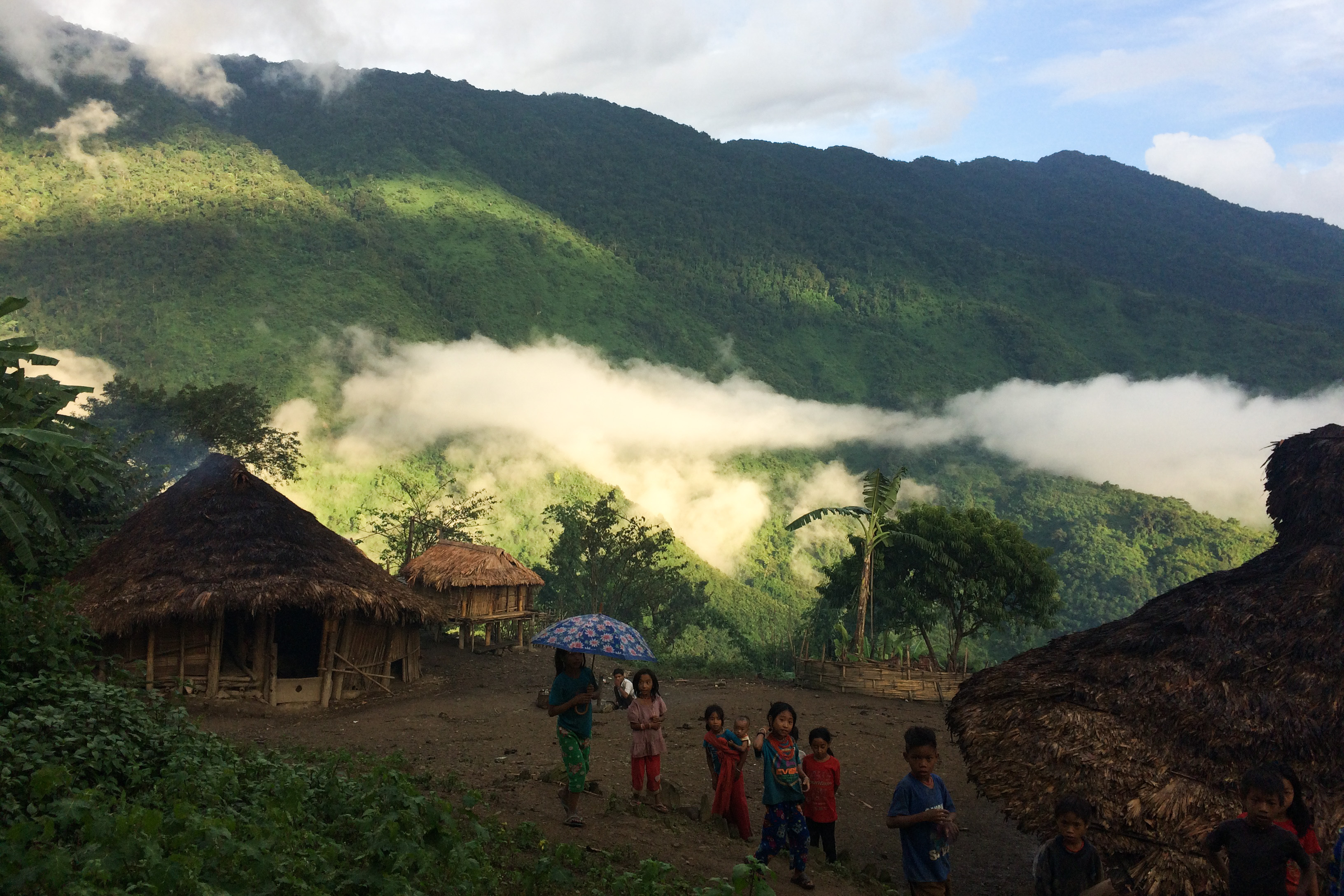 Htan Khaw Lama village in late September. (Photo: Nan Tin Htwe)