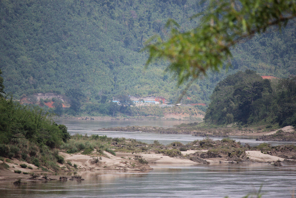 The Myitsone dam site, as seen in 2013. (Photo: Nyein Nyein / The Irrawaddy)