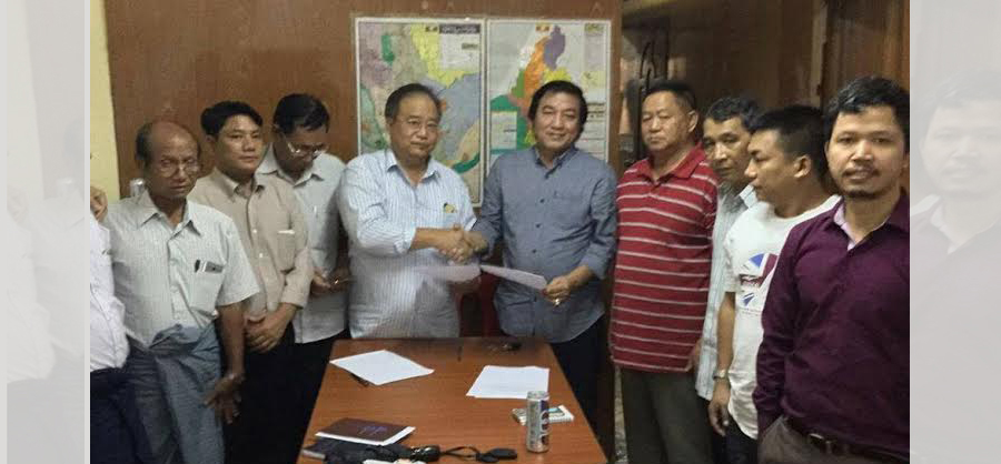 Chin Political Parties Merge