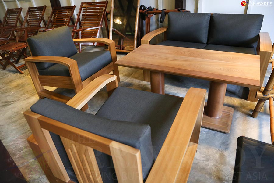 yangon furniture store promotes local craftsmanship