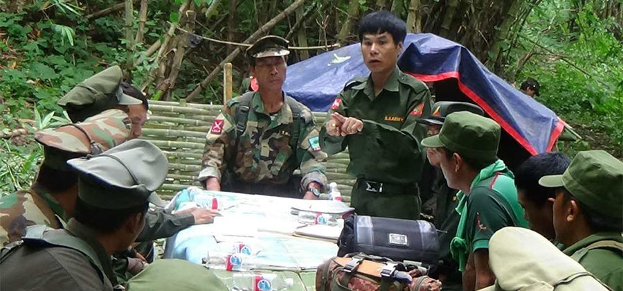 Burma-Myanmar: Ta'ang National Liberation Army (TNLA) accuses military of  helping Restoration Council of Shan State (RCSS) gain bases in North Shan »  Wars in the World