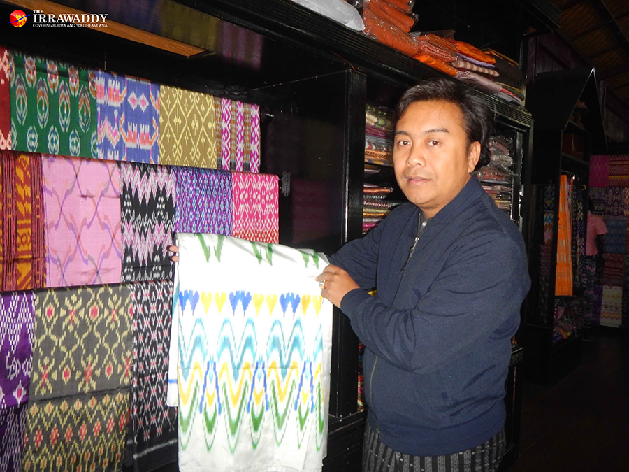 A Lotus Fabric Business Takes Root On Inle Lake