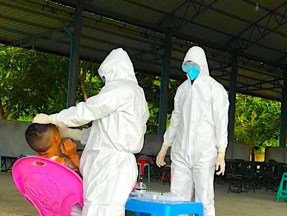 Myanmar's Ethnic Shan Rebels Launch COVID-19 Vaccine Program With Chinese Jabs